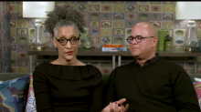 TV chef Carla Hall says her mom was concerned about her being 42 and single. Then, online, she met her husband, Matthew Lyons.