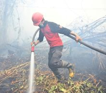 Subterranean blaze: Indonesia struggles to douse undergound fires