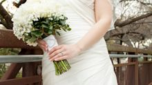 Why hundreds of women are wearing their wedding dresses to work this Wednesday