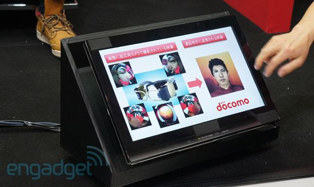 NTT DoCoMo hands-free videophone prototype replaces that off-center webcam stare with your digital doppelganger (video)
