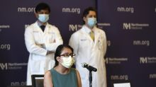 COVID patient didn't recognize body after double transplant