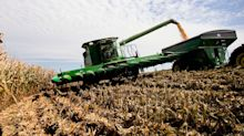 Stocks bite the dust after USDA reports surprisingly high crop yields