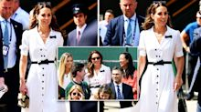 Duchess of Cambridge praised for swapping royal box for a 'normal seat' at Wimbledon