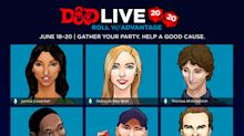 The Most Star-Studded Dungeons & Dragons Event Ever Assembled Aims to Raise Money for Red Nose Day Charity