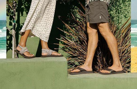 Sanuk sandals are the most 'comfortable