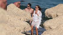 Sofia Vergara Relaxes in Greece After Emmy Nomination