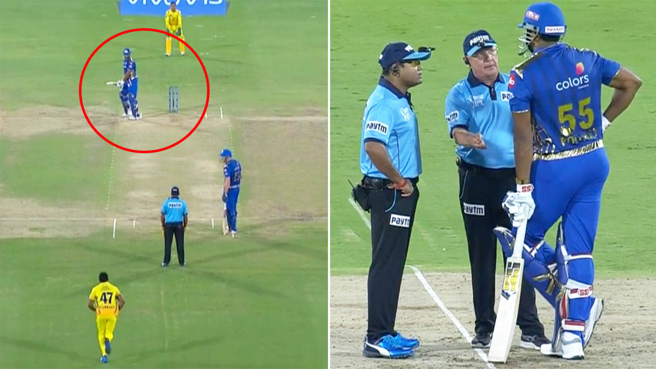 'Can't do that': Bizarre moment in IPL final causes controversy