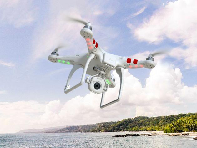 Drones of the future could fly for hours thanks to hydrogen fuel cells