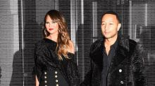 Chrissy Teigen and John Legend Own Twinning in Matching Outfits
