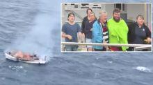 Queensland family fishing trip takes terrifying turn