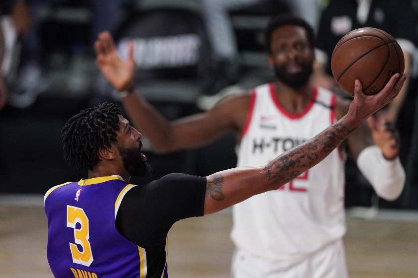 Lakers tried something new and the Rockets made them pay: 'It's super tough'