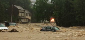 Maryland town faces flash floods, water rescues