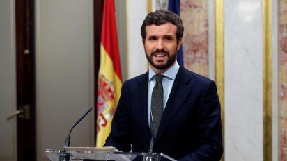 """Casado pide una comparecencia urgente de Sánchez por """"fraude político"""" de la mesa"""