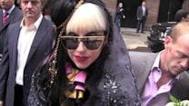 Lady Gaga Forgets Her Top and Heads Out in Just a Bra