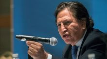 The Latest: Ex-Peru president brushes off detention queries