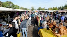 Trödelmarkt in Berlin: Wie sich Pankows Mauerpark-Flohmarkt vor Corona schützt