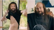Jason Momoa Fights The Hot In Deeply Unsettling Super Bowl Ad