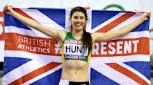 Amy Hunt hopes to follow in the footsteps of Dina Asher-Smith