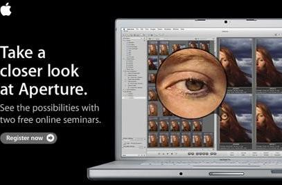 Apple offers two free online Aperture seminars