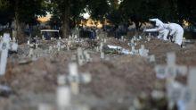 Brazil has record new coronavirus cases, surpasses France in deaths