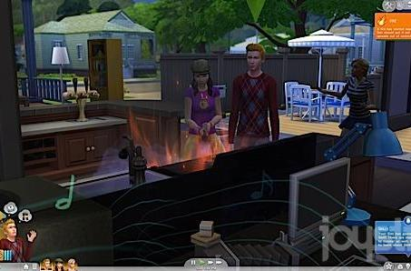 Coveting my neighbor's house in The Sims 4