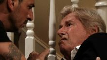 WATCH: The moment Ken Barlow has stroke on Corrie, Bill Roache 'delighted' with story