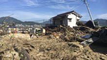 Abe visiting flood-hit western Japan as deaths reach 176