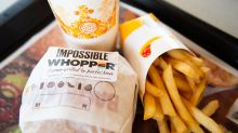 Burger King's plant-based Impossible Whopper saw sales growth decelerate in the fourth quarter
