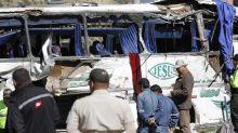 Ecuador: bus que provocó accidente mortal llevaba marihuana
