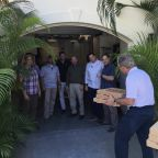 George W. Bush Calls for an End to Government Shutdown With a Secret Service Pizza Delivery