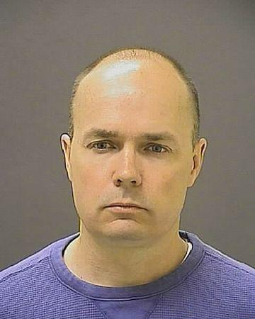 Lt. Brian Rice in undated booking photo provided by the Baltimore Police Department
