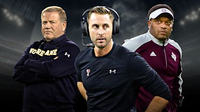Which college coaches are on the hot seat?