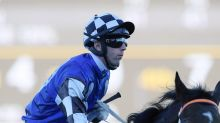 Brenton Avdulla chases a Group One return