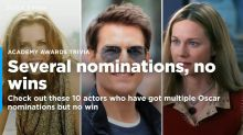 These 10 Actors Have  Multiple Oscar Nominations Without A Win