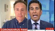 Chris Cuomo Gets Some Bad News About His Coronavirus Battle From Dr. Sanjay Gupta