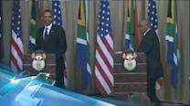 Breaking News Headlines: Protesters Scuffle With Police Before Obama's Town Hall Meeting in Soweto