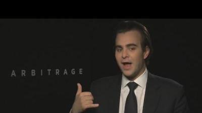 Arbitrage - Director Nicholas Jarecki talks ...