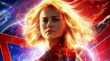 Marvel Studios Releases 'Captain Marvel' Poster Ahead Of New Trailer