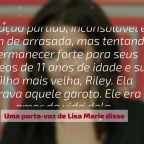 Lisa Marie Presley está arrasada com morte de filho