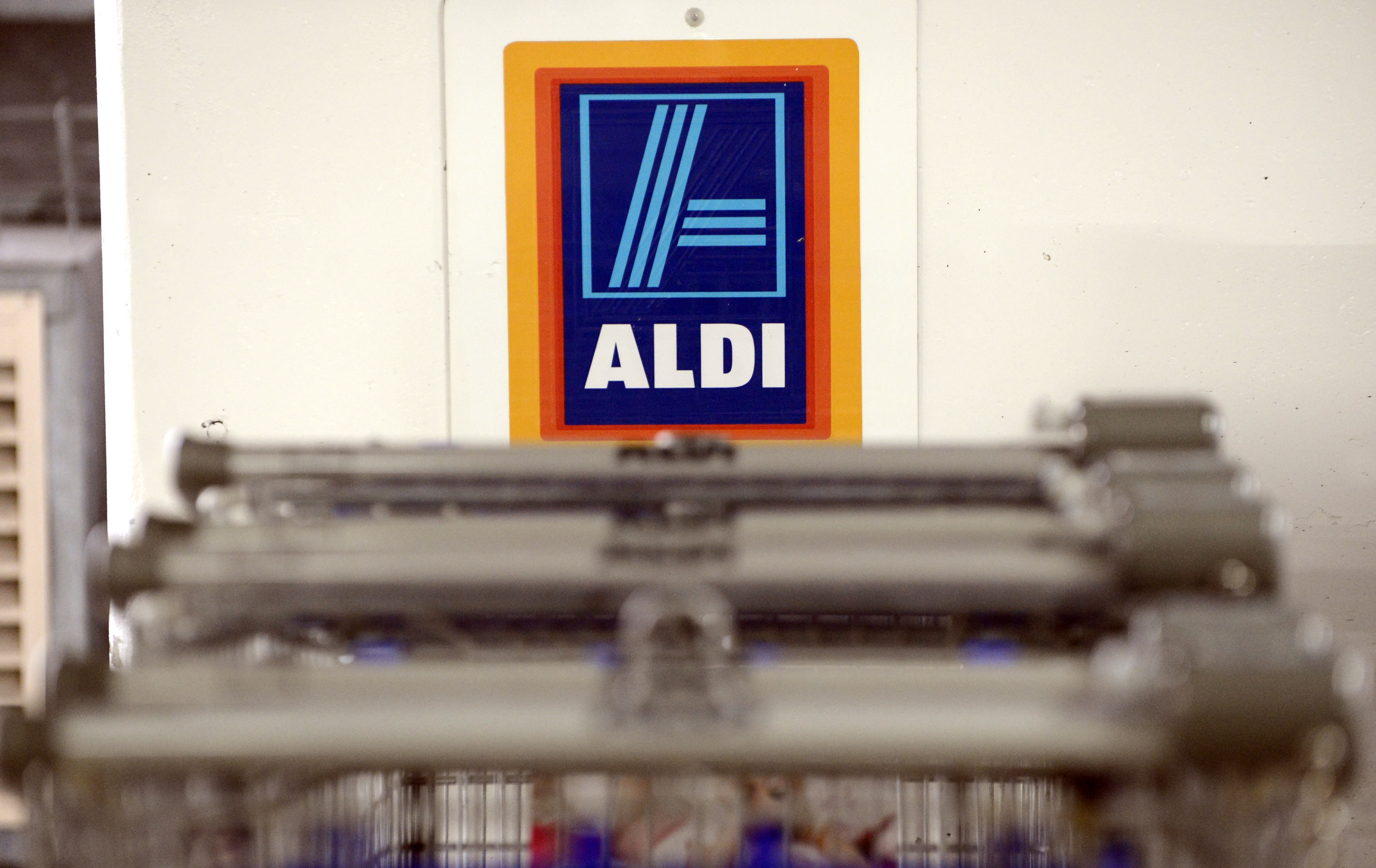 What does the name Aldi stand for?