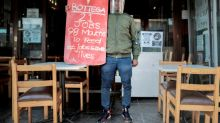 South African restaurants protest virus lockdown restrictions