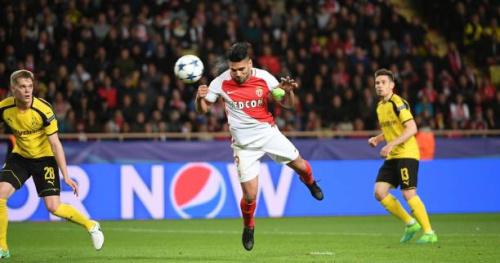 Foot - C1 - ASM - Le but de Falcao (Monaco) contre Dortmund en vidéo