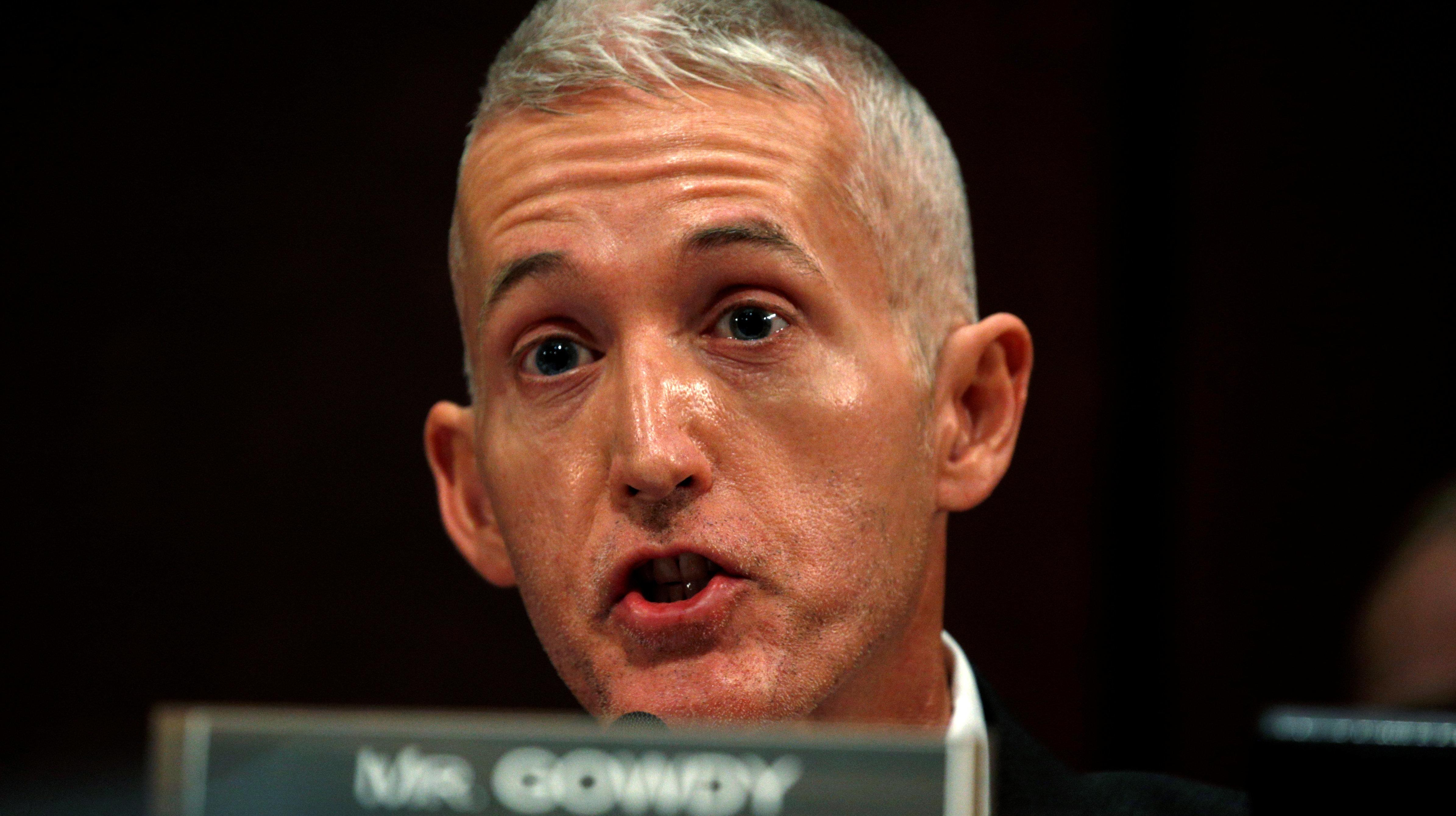 GOP Rep. Trey Gowdy Contradicts Trump On 'Informant' Claim