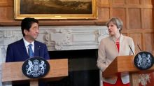 Japanese PM Abe asks UK PM May for 'smooth Brexit' for business