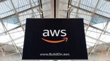 Amazon Beats Big on Q4 Bottom Line; Plus V, AMGN