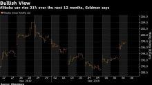 Goldman Sees Alibaba Jumping 31% in Hong Kong in Next Year