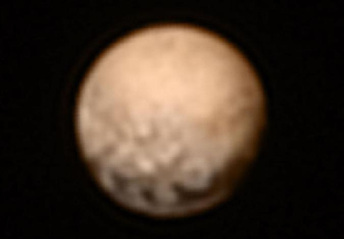 NASA's latest Pluto images actually show a planet