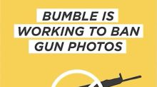 Bumble bans guns from dating profile pictures