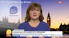 Tory minister caught out over '50,000 nurses' manifesto claim in car-crash interview