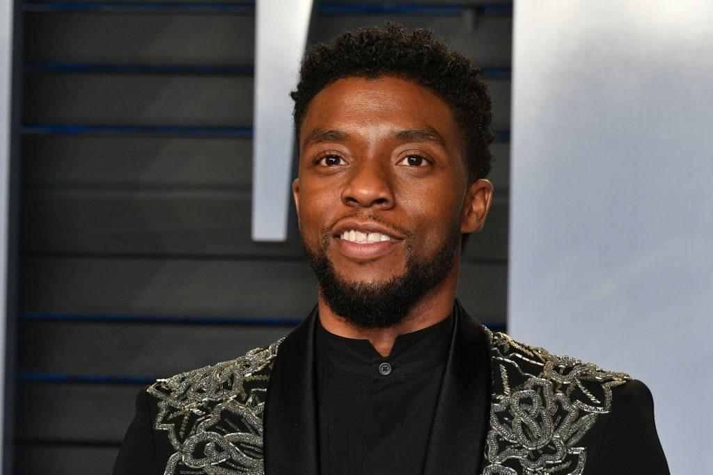 Michael B Jordan Lupita Nyong O And More Attend Chadwick Boseman Private Memorial